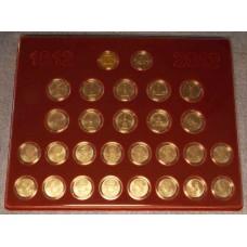 Набор монет в планшете, посвященный Победе России в ВО 1812 года